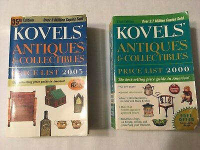 Books - Kovels' Antiques and Collectibles, price lists 2000 and 2003