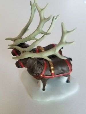 DEPT 56 NORTH POLE SLEIGH TINY REINDEER 56111 *SINGLE*  FIGURE replacement