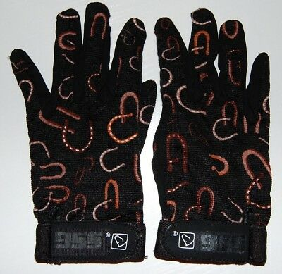ROYAL BLUE SSG All Weather Riding Gloves 8600 Ladies S Mens Universal Child/'s