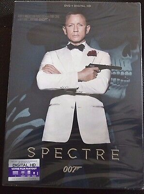 James Bond 007 Spectre    Film Dvd    Neuf Sous Blister