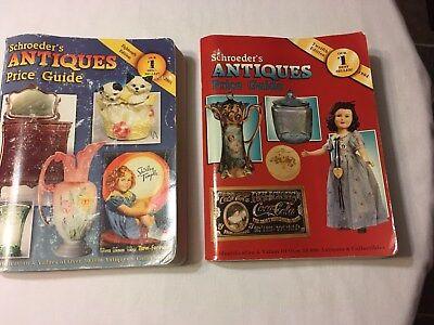 Books - Schroeder's Antiques Price Guides - 1994 and 2000