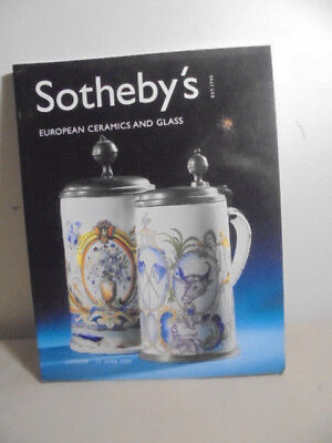 Sotheby's-London-European Ceramics And Glass-2001-New