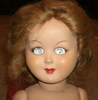 Haunted antique doll - paranormal -creepy  beautiful old doll hollow eyes
