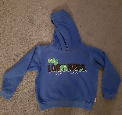 Boys hooded jumper  age 5 - 6 years