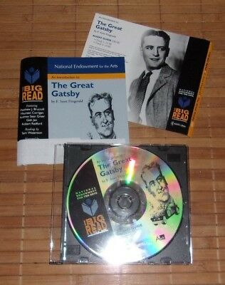 An Introduction to THE GREAT GATSBY National Endowment for the Arts Audio CD