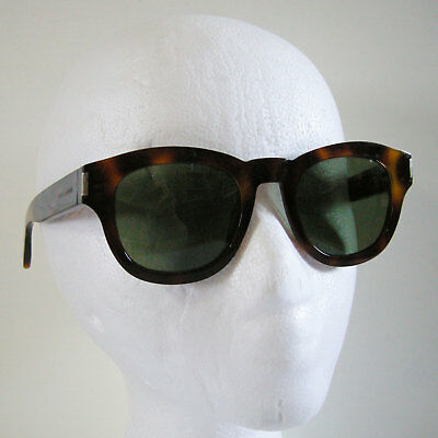 f2226d6f3de37 Saint Laurent Bold 2 Sunglasses Light Havana Frame Green Lens (003) 49