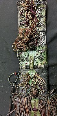 Pouch Pouch Leather Tuareg Tuareg Purse Wallet Anafed Niger