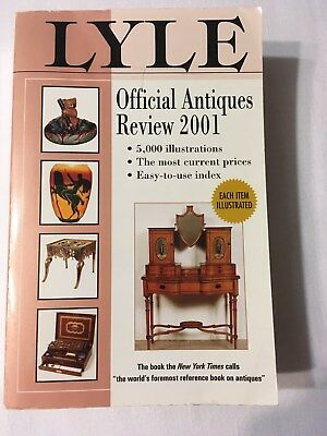 Book - Lyle Official Antiques Review 2001 (Antiques and Collectibles)