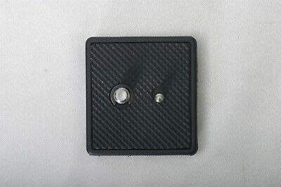Quick Release PLATE for Sunpak 6000PG Tripod with 620CPG head (please read)