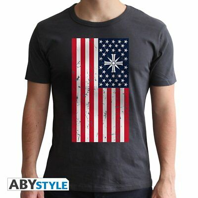 Abystyle Abysse Corp ABYTEX480far cry-t-shirt-flag-man SS New Fit, da (d8m)
