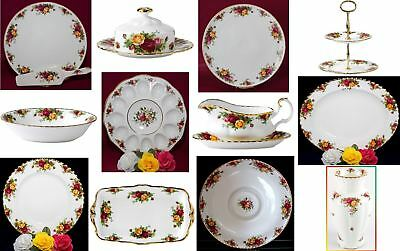 Royal Albert Old Country Roses Dishes, Plates, Trays and More - You Pick