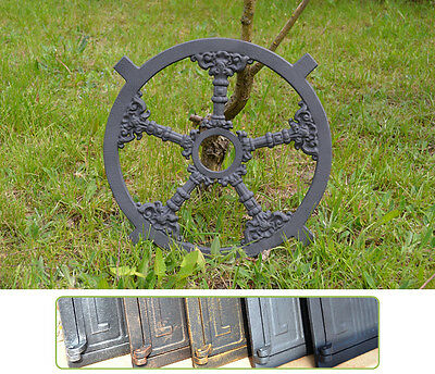 ⌀39cm New Antique Round Cast Iron Window Frame - 6 Colors ! - BUY DIRECTLY-KK104