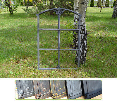 520 x 765mm New Antique Cast Iron Window Frame - 6 Colors ! - BUY DIRECTLY-KK103