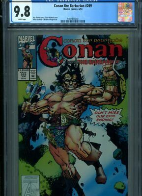 Conan #269 Cgc Mt 9.8 White Pages Thomas Story Villagran Art Scarce Later Issue