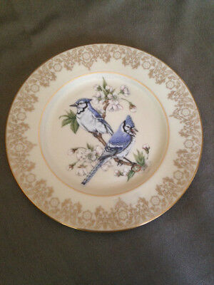 Lenox Blue Jay collector plate