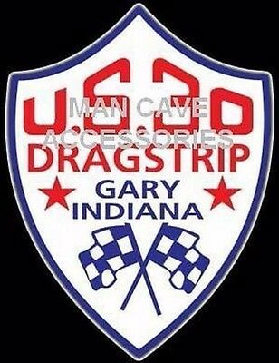 Remembering US 30 Dragstrip Gary In Vinyl Decal Sticker 4343