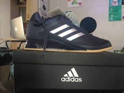 68c6a8c72bcc8c Adidas Leistung 16 Ii Weightlifting Shoes Men s Size Us 12 Navy Blue Cq1770
