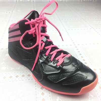the best attitude 2cd95 dde04 ADIDAS WOMENS SNEAKERS 7 Black Pink Lace Up Athletic High Top Orthalite  Shoes -  31.49   PicClick