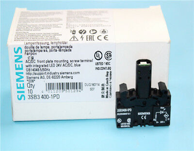 1PC 3SB3400-1PD 3SB34001PD NEW SIEMENS button with light base