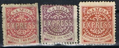 Samoa 1877. Express Stamps. Probably reprints?