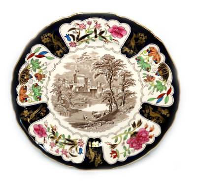 Vintage exquisite Masons 1975 Christmas Windsor Castle plate