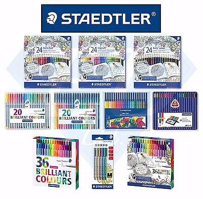 STAEDTLER Stationary - Pens / Colouring Pencils / Felt Tips / Metallic Markers