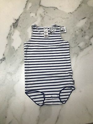 BNWT Bonds Singlesuit With Snapstuds Size 2 RRP$13.95