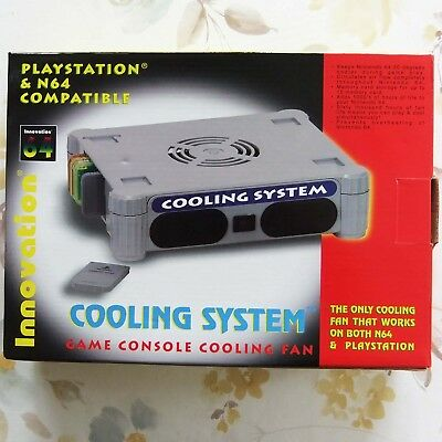 Innovation Cooling System NEU, Nintendo 64 + Playstation 1 N64 PS1 Console Fan