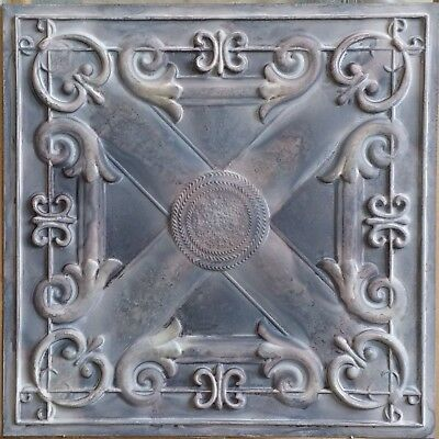 Old Ceiling tile faux tin wood gray KTV club decor wall panel PL22 10pcs/lot