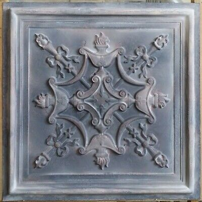 Old Ceiling tile faux tin wood gray KTV club decor wall panel PL30 10pcs/lot