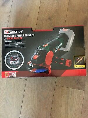 Parkside  Cordless 20V Team Li-ion Battery Angle Grinder PWSA 20-Li B2 Battery