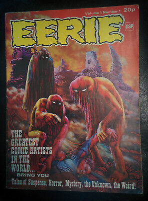 EERIE tales of Suspense, Horror, Mystery & the Weird (Gold Star 1972) Vol1 #1