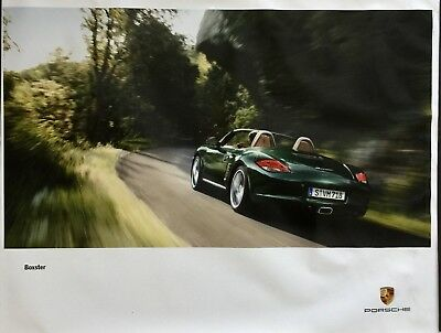 Porsche Boxster Showroom Advertising Large Original Poster Rare Awesome Gift