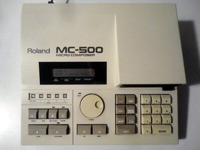 Roland MC-500 Micro Composer | Handbücher | Software-Disketten | Netzkabel