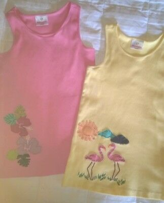Hanna Andersson 2 Tank Tops Size 150