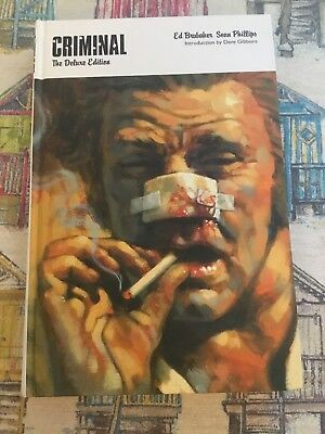 Criminal The Deluxe Edition by Ed Brubaker HB Graphic Novel Icon