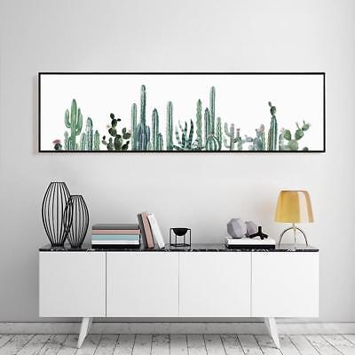 Modern Canvas Poster Print Long Art Picture Painting Cactus Wall Home Decoration