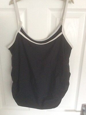 Blooming Marvelous Maternity Tankini Swimming Top Size 12