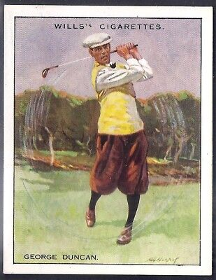 Wills-Famous Golf Ers-#04- George Duncan