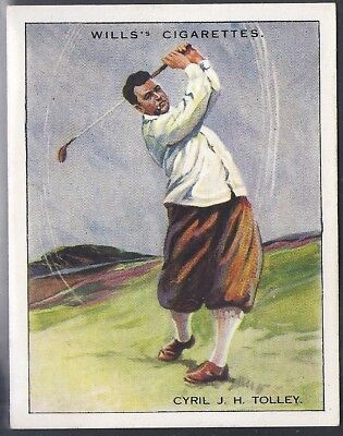 Wills-Famous Golf Ers-#21- Cyril Tolley