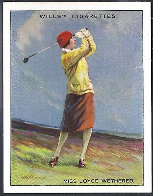 Wills-Famous Golf Ers-#23- Miss Joyce Wethered