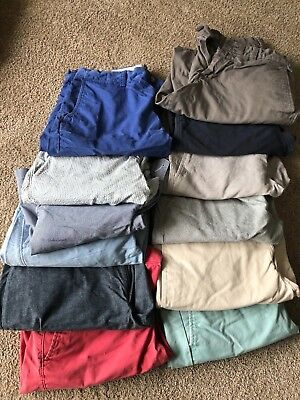 (Lot of 14 Pair) Shorts Men's Shorts ( Gap, Polo and J Crew) (Size 29 & Size 30)