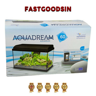 Aquarium Set Black Aquatlantis Aquadream 60
