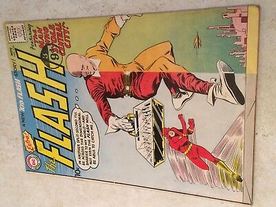 The FLASH #116 (DC)  and KID FLASH. Infantino/Giella-a. JLA #1 page ad. 1960!