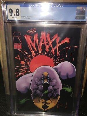 The Maxx #1 (1993) CGC 9.8 White Pages! Sam Kieth cover and art