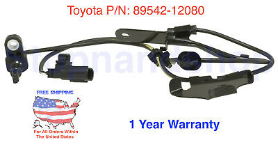 For Scion tC xB Lexus Toyota ABS Wheel Speed Sensor, Front Right Passenger Side