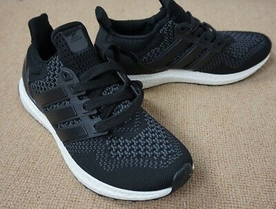 9058ef7a2d773 New Size 11 Adidas Ultra Boost 1.0 Core Black White Running Sneakers -  S77417