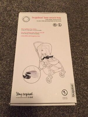 Bugaboo Bee Snack Tray - Holds Food And Drinks - New In Box