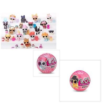 Lol Surprise Pets Series 4 Wave 1 & 2 Eye Spy Choose Pet Ultra Rare, Gold Ball