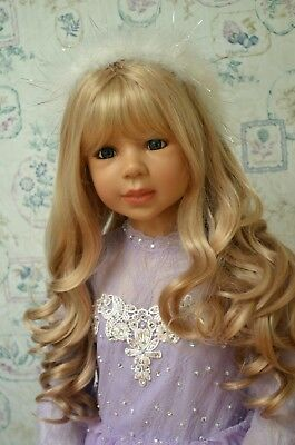 Masterpiece Dolls Snow Queen Blonde Wig, Fits Up To a 21-inch Head